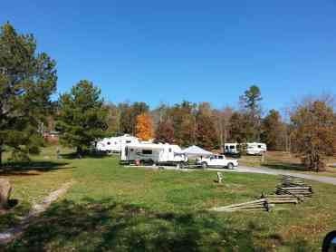 Cove Mountain Resorts RV Park in Sevierville Tennessee Sites